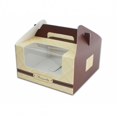 Cake Boxes with Handle C-MS-4C