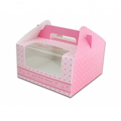 Cake Boxes with Handle C-MS-4B