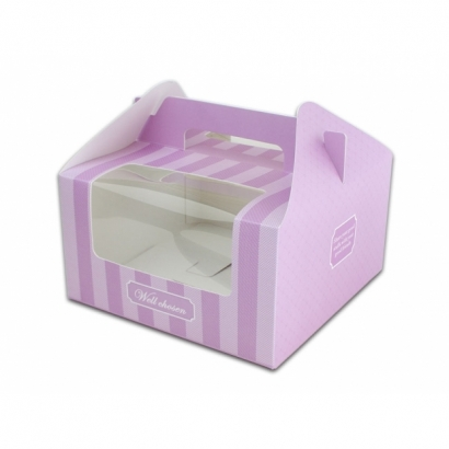 Cake Boxes with Handle C-MS-4A